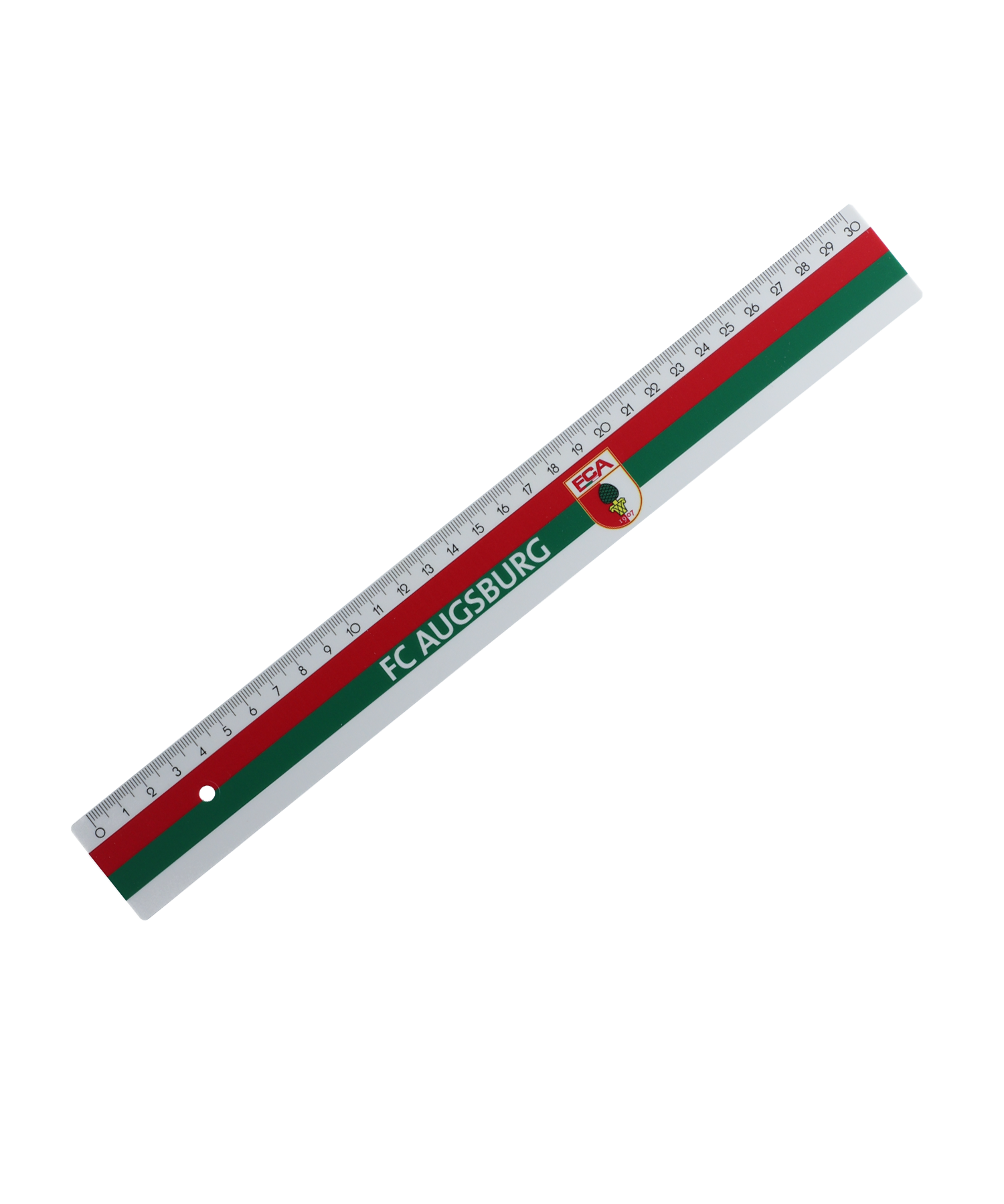FC Augsburg Lineal 30cm Rot - rot