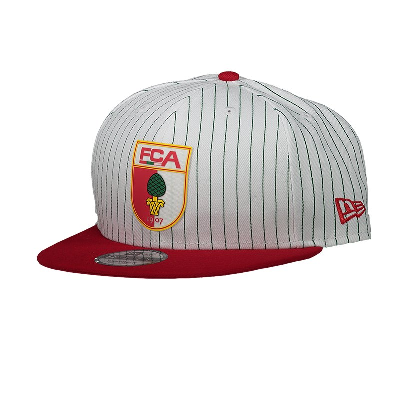 New Era FC Augsburg 9Fifty Snapback White - weiss