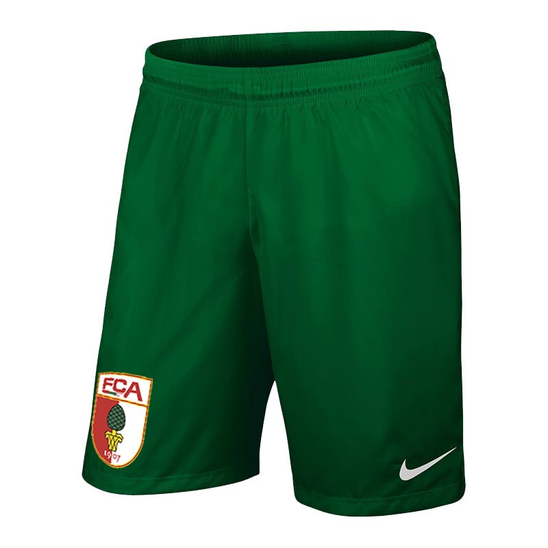 Nike FC Augsburg Short Away Kids 2017/2018 F302 - gruen
