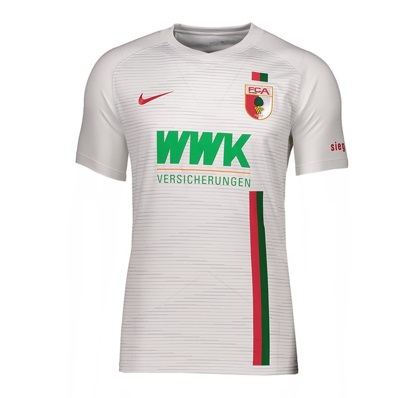 Nike FC Augsburg Trikot Home 2018/2019 Weiss F043 - weiss